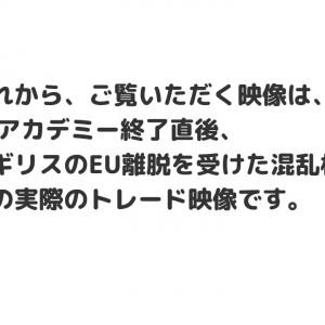 【実録】ブレグジットトレード